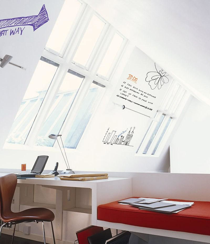 IdeaPaint transforms any surface into a Dry Erase Board.