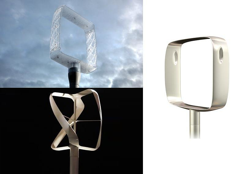 revolutionair design wind turbines by philippe starck. Black Bedroom Furniture Sets. Home Design Ideas