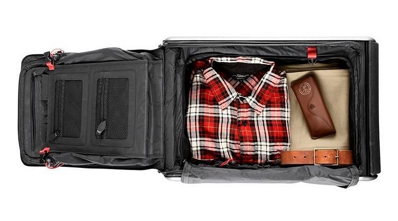 H βαλίτσα Trip της Travelteq γίνεται και κάθισμα.