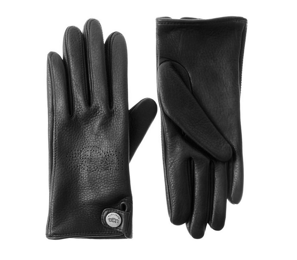 Leather UGG Gloves for Women.