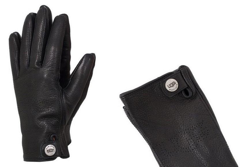 Δερμάτινα γυναικεία γάντια UGG Australia.