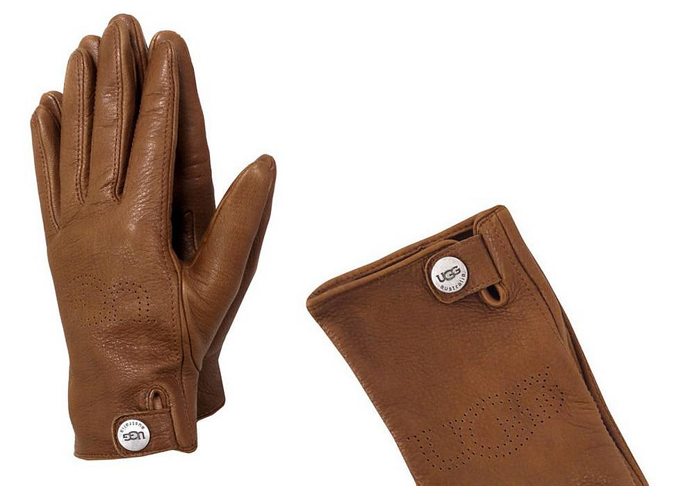 ugg leather driving gloves
