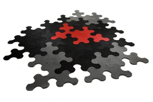 Contraforma Puzzle Rug IMPERIAL by Nauris Kalinauskas.