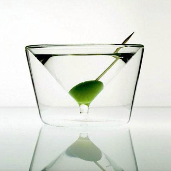 Πρωτότυπα γυάλινα ποτήρια Inside Out Collection.