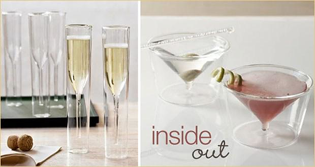 Inside Out Collection Glasses byAMT.