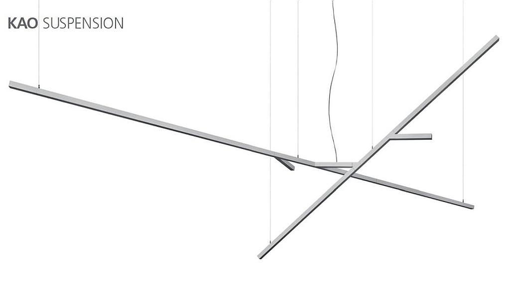 Σύστημα φωτισμού Kao της Artemide Architectural.