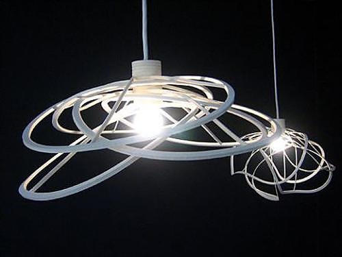 Ligne Roset Bloom Ceiling Light by Hiroshi Kawano.