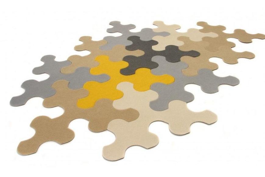 Imperial Puzzle Rug το χαλί παζλ από την Contraforma.