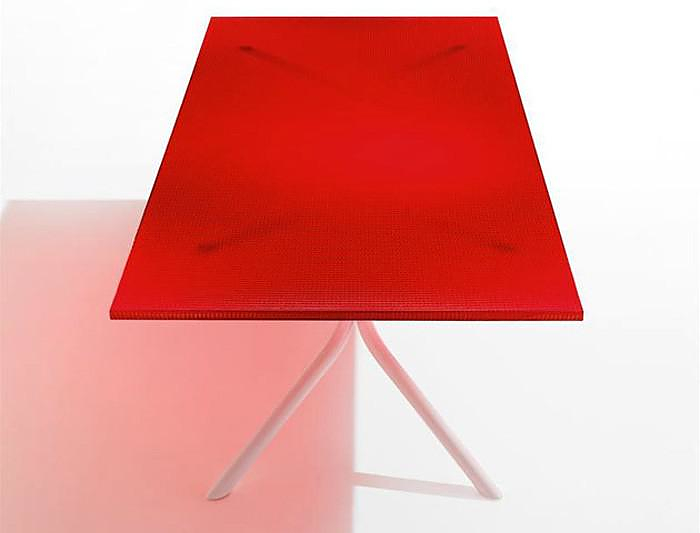 Ross Lovegrove Rectangular Table by Knoll.