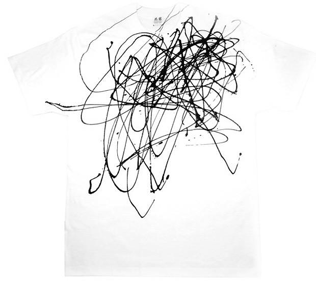 Artistic t-shirt by Kyouei Design.