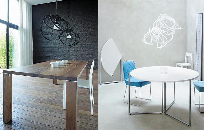 ligne roset bloom ceiling light by hiroshi kawano. Black Bedroom Furniture Sets. Home Design Ideas