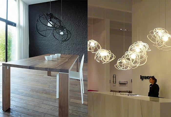 ligne roset bloom ceiling light by hiroshi kawano design is this. Black Bedroom Furniture Sets. Home Design Ideas
