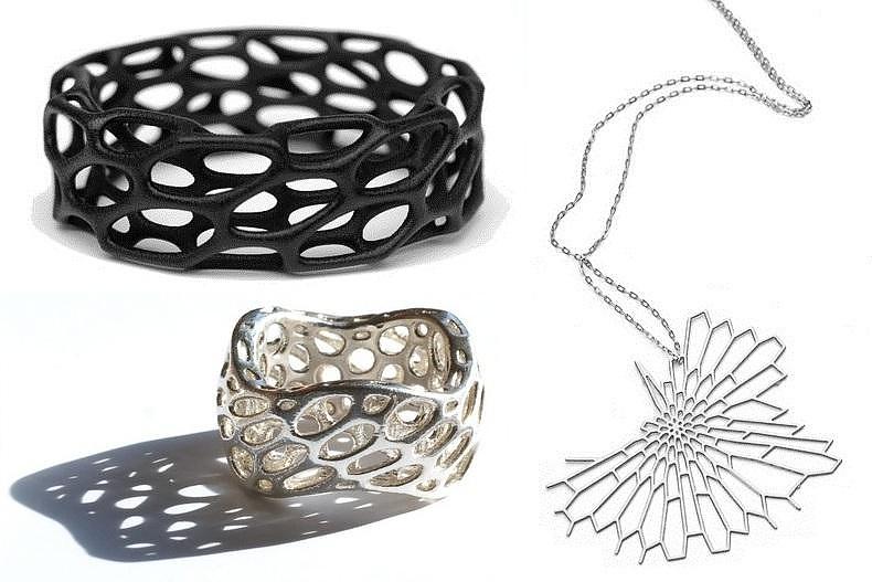 Μοντέρνα κοσμήματα εμπνευσμένα από πρωτόζωα της Nervous System.