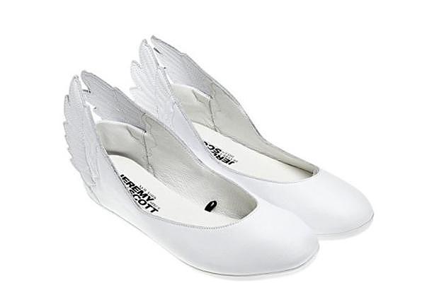 Adidas Originals x Jeremy Scott Winged Flats.