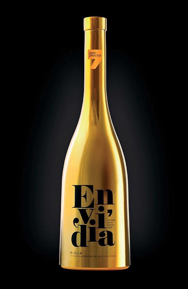 Pecados Seven Deadly Sins Wine Bottles.
