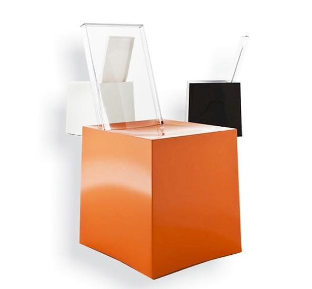 Miss Less Chair by Philippe Starck for Kartell.