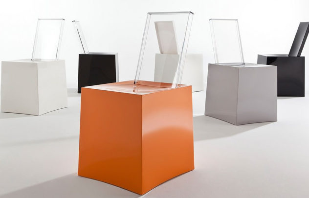 Miss Less Chair by Philippe Starck for Kartell