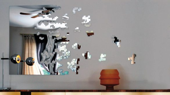 Dissolve Mirror by Arik Levy