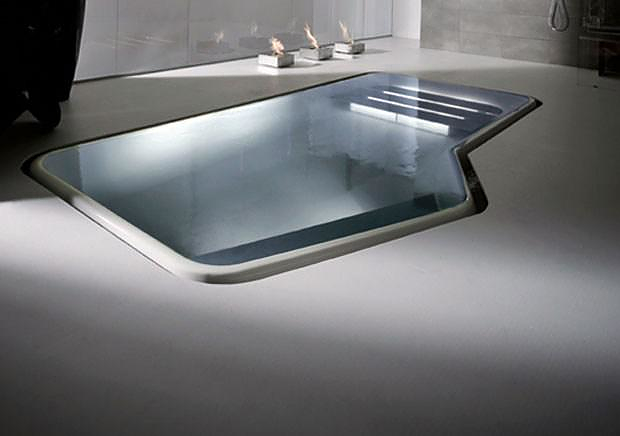 Kos Faraway Bathtub-Pool by Ludovica and Roberto Palomba