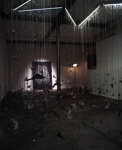 Atmospheric Art Installations by ISO Hirofu / Komainu.