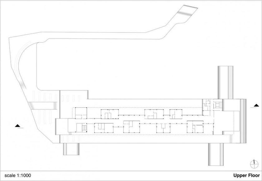 Συνοριακός σταθμός από τους J. Mayer H. Architects.