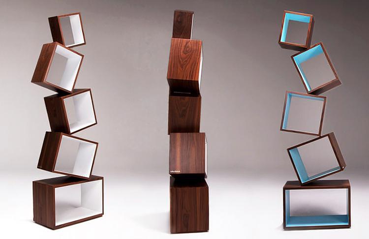 Βιβλιοθήκη Equilibrium από την Malagana Design.