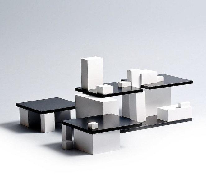 Tectus από την Naef, η αρχιτεκτονική ως παιχνίδι.