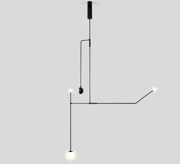 Michael Anastassiades Mobile Chandeliers & Kinetic Lights.