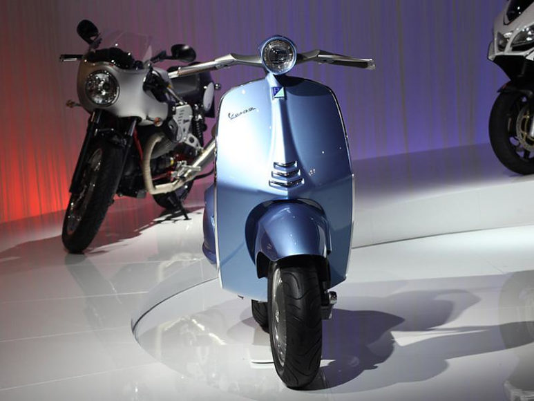 Piaggio Vespa 46, από το παρελθόν για το μέλλον.