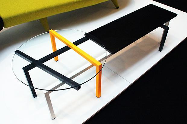 Συλλογή τραπεζιών ADD UP της Uno Design.
