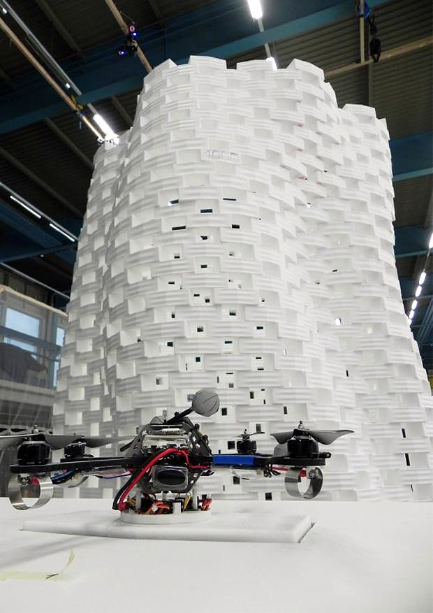 Flight Assembled Architecture at frAC Centre.