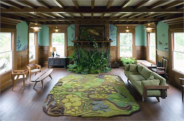 Pathways Rugs by Angela Adams, inspired by nature.