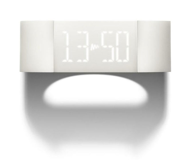 Mutewatch digital watch, high-tech minimalism.