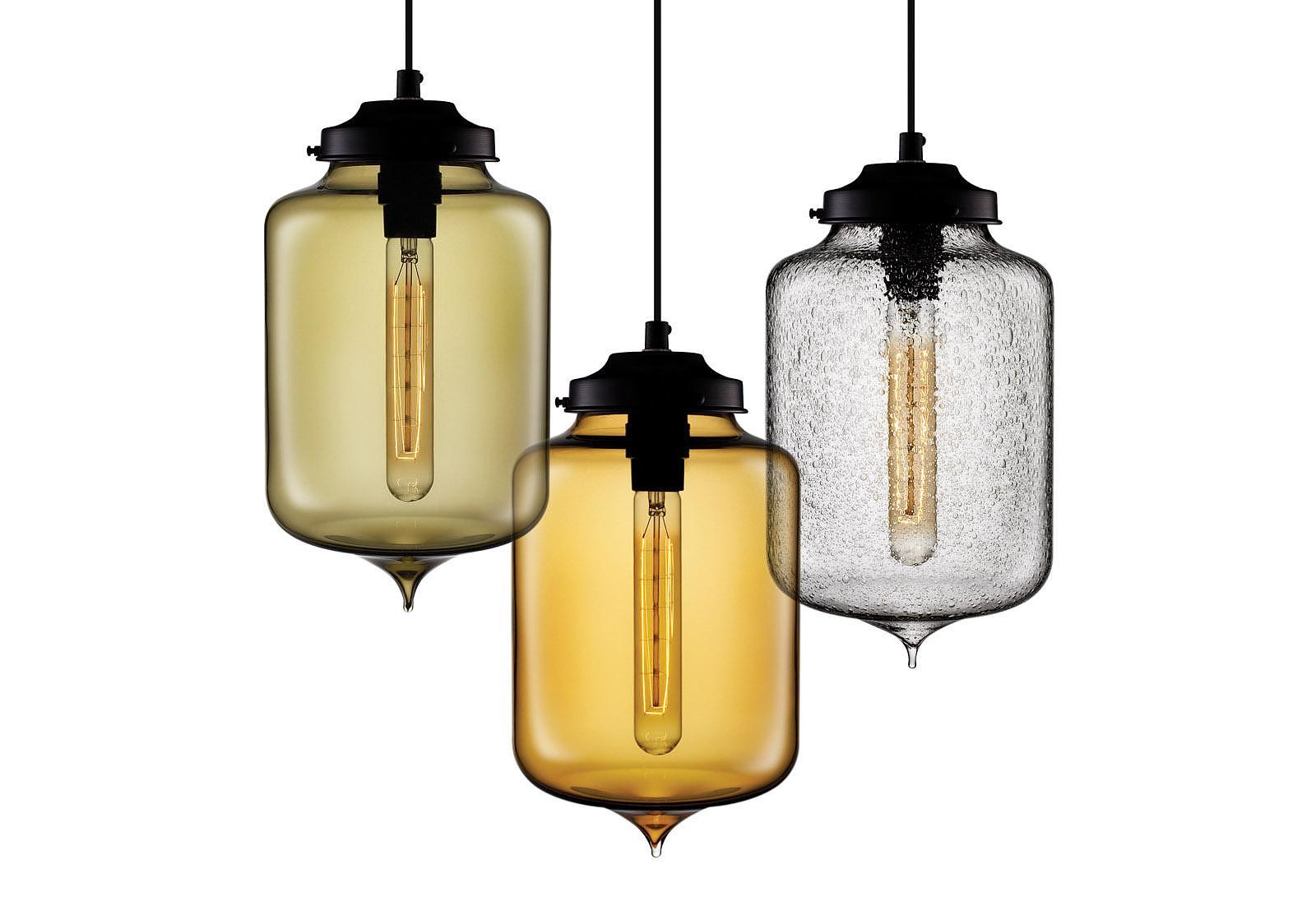 Stunning Pendant Lights by Niche Modern.