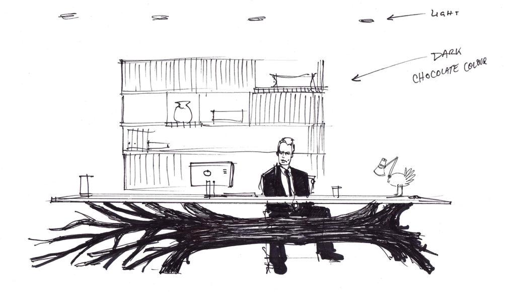 Τραπέζι Natura Morte από τον Sebastian E.