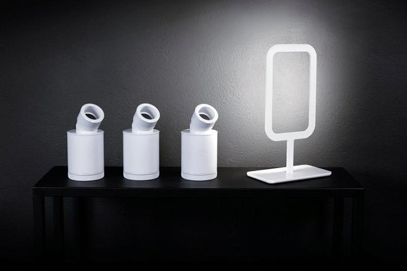 Minimal LED Lamps by Goodbye Edison.