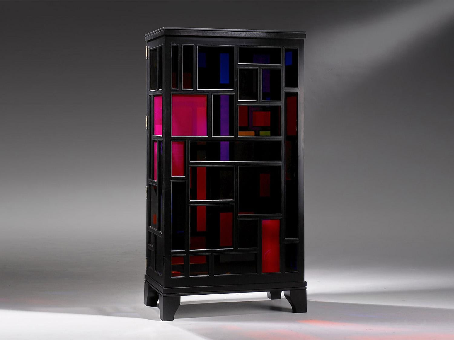 Rainbow Cabinet by Tusse.