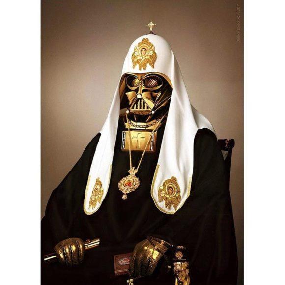 Patriarch Vader by Dmitry Dyachko.
