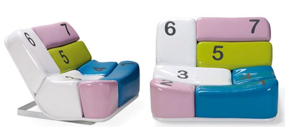 Adrenalina SHIFT Armchair by Simone Micheli.