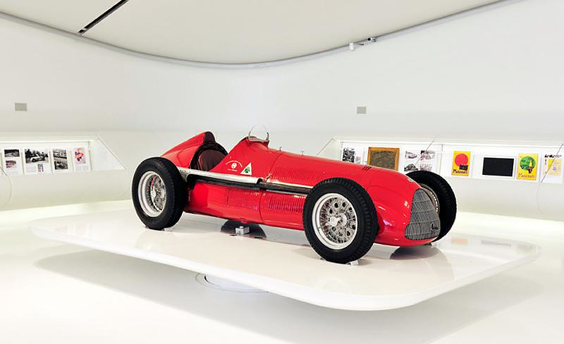 Enzo Ferrari Museum by Future Systems.