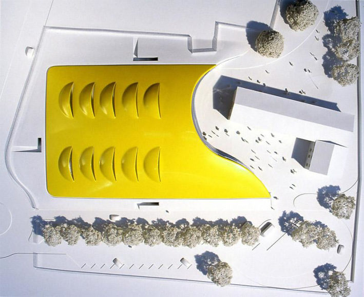 Μουσείο Enzo Ferrari από την Future Systems.