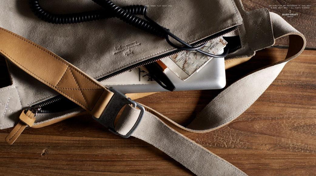 Τσάντα Laptop, Flat Pack από την Hard Graft.