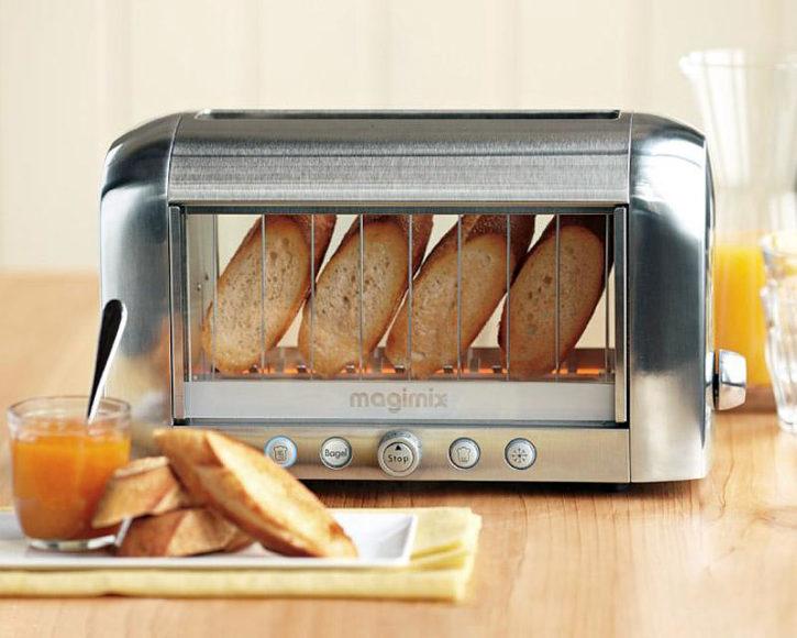 Διάφανη Φρυγανιέρα, Magimix Vision Toaster.