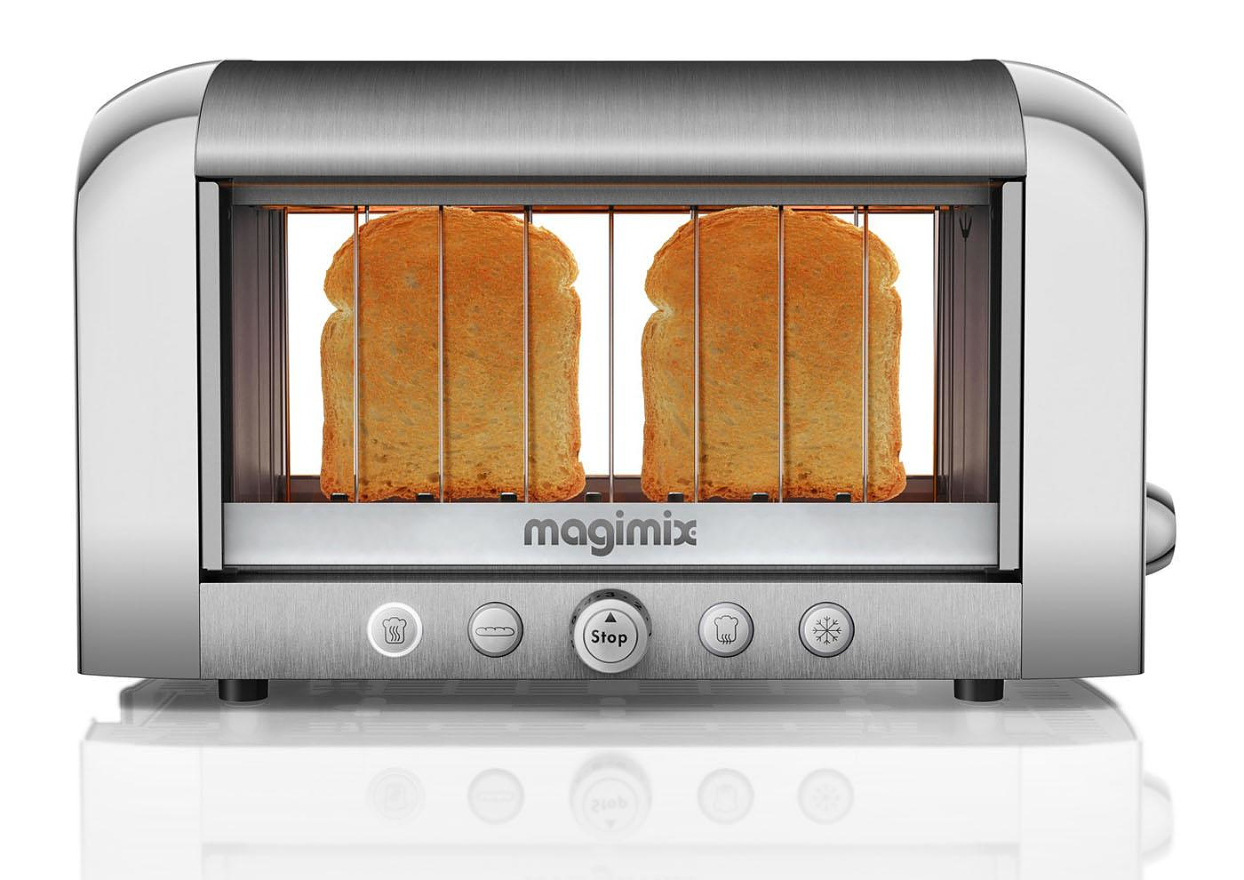 Magimix Vision Toaster World S First See Through Toaster