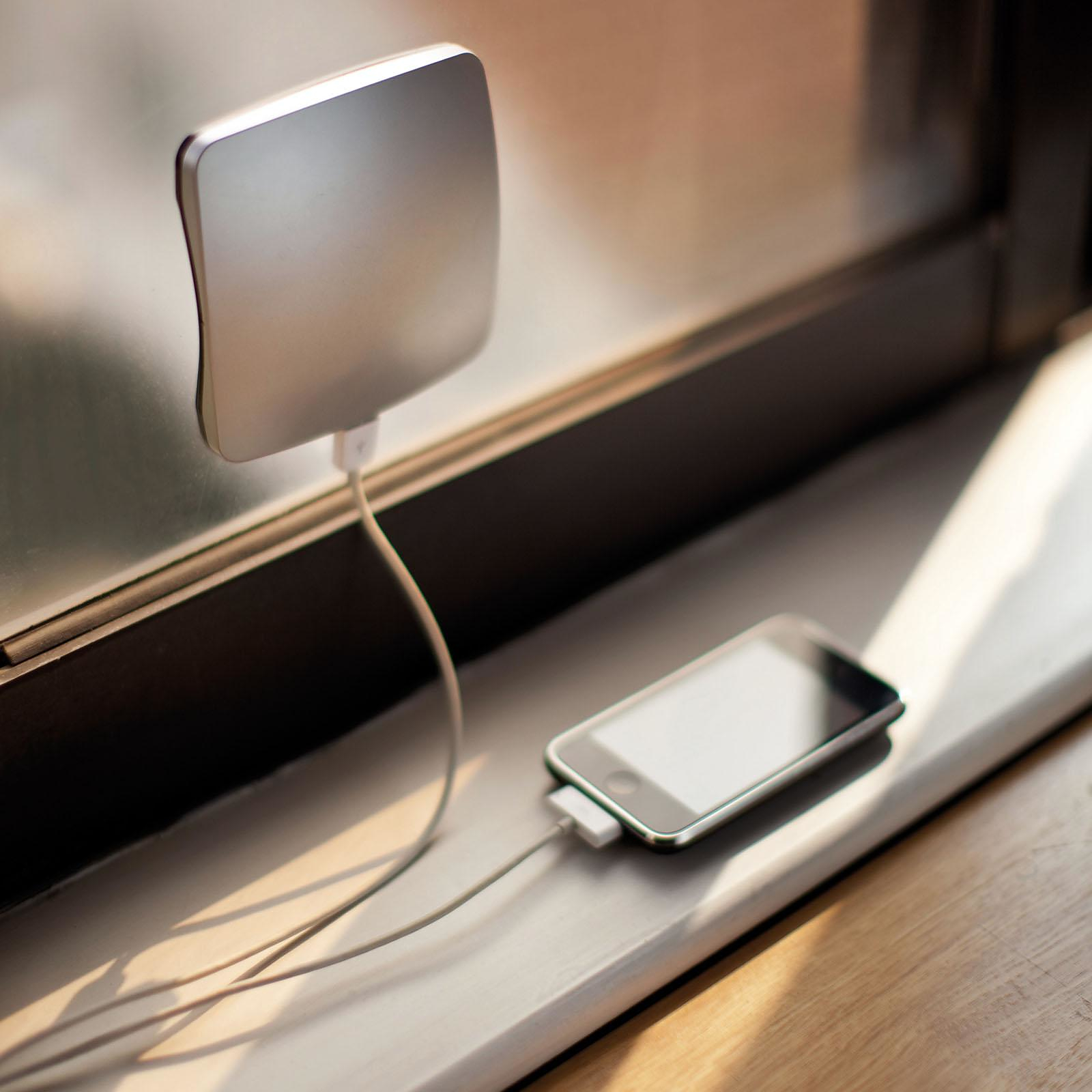 Window Solar Charger by XD Design.