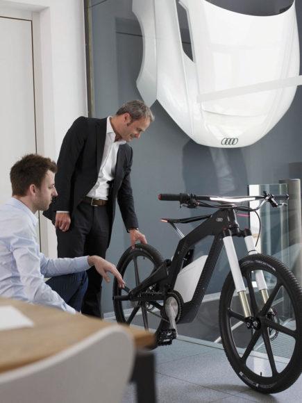 Ηλεκτρικό ποδήλατο Audi E-Bike Wörthersee.