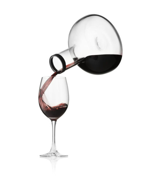 Menu Wine Breather, Menu Cool Breather Wine Carafes.