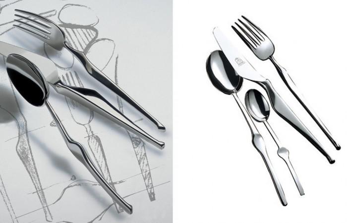 Mepra Ergonomica Cutlery Angelo Mangiarotti