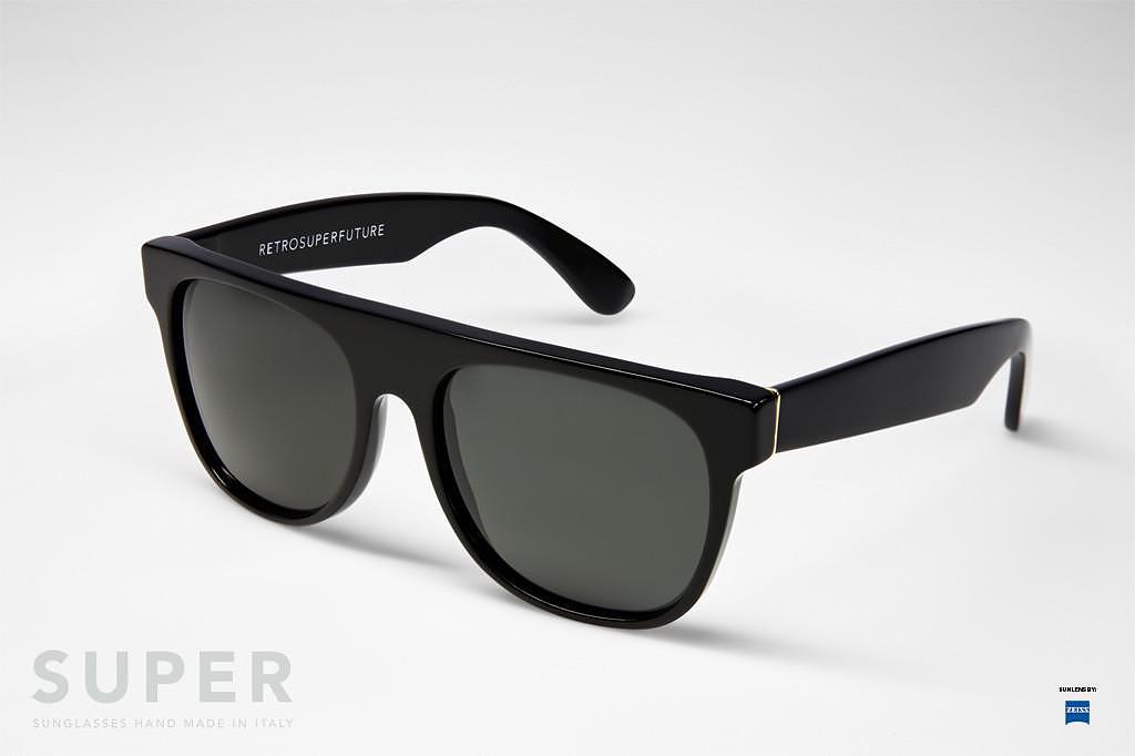 Retro Super Future Flat Top Sunglasses.
