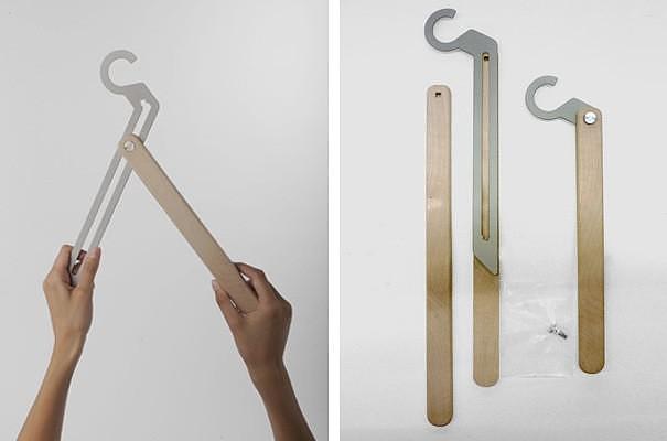 Κρεμάστρες T-square Hanger από την Jennifer Rabatel.